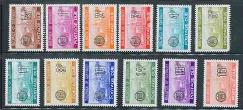 Postage Dues 1977 1/2 - 15p (10)