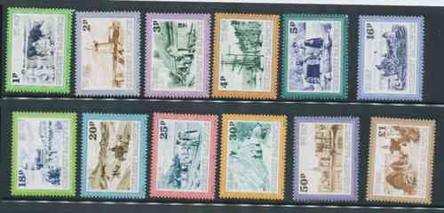 Postage Dues 1982 1p - £1 (12)