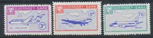 Sark Commodore Shipping 1966 Europa/Planes